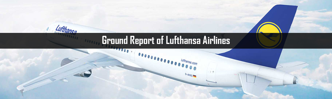 Ground Report of Lufthansa Airlines
