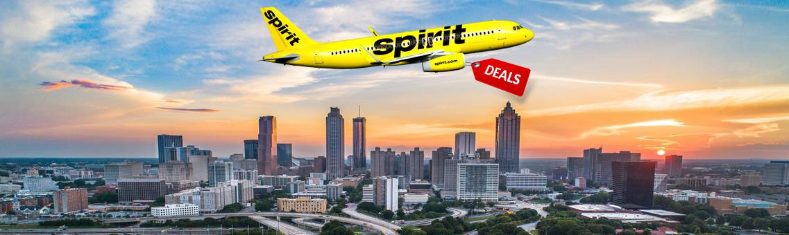 Find Vacations Deals for Spirit Flights to Atlanta
