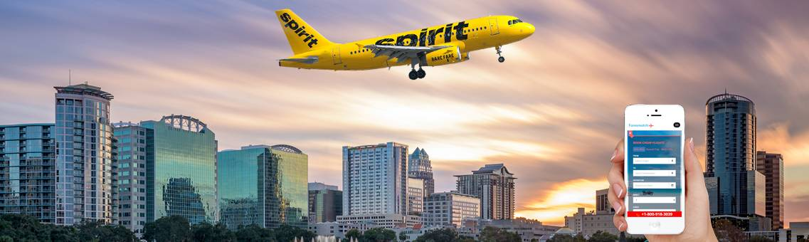 Manage Your Vacations for Spirit Flights to Orlando