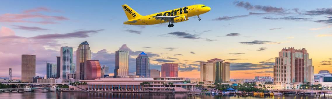 Spirit Flights to Tampa