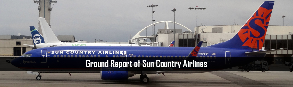 Ground Report of Sun Country Airlines