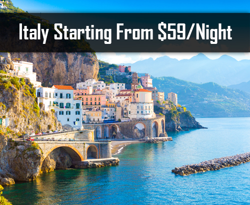 Italy Starting From $59/Night