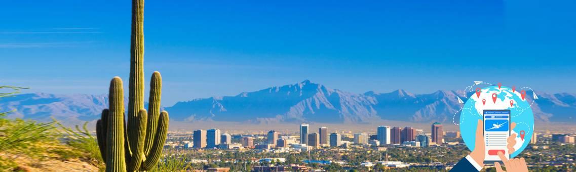 Book Online United Flights to Arizona